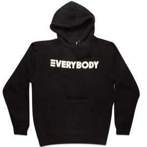 Gildan| Black EVERYBODY Album Hoodie L